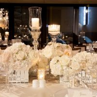 Langham hotel winter wedding