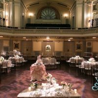 Murphy Auditorium wedding