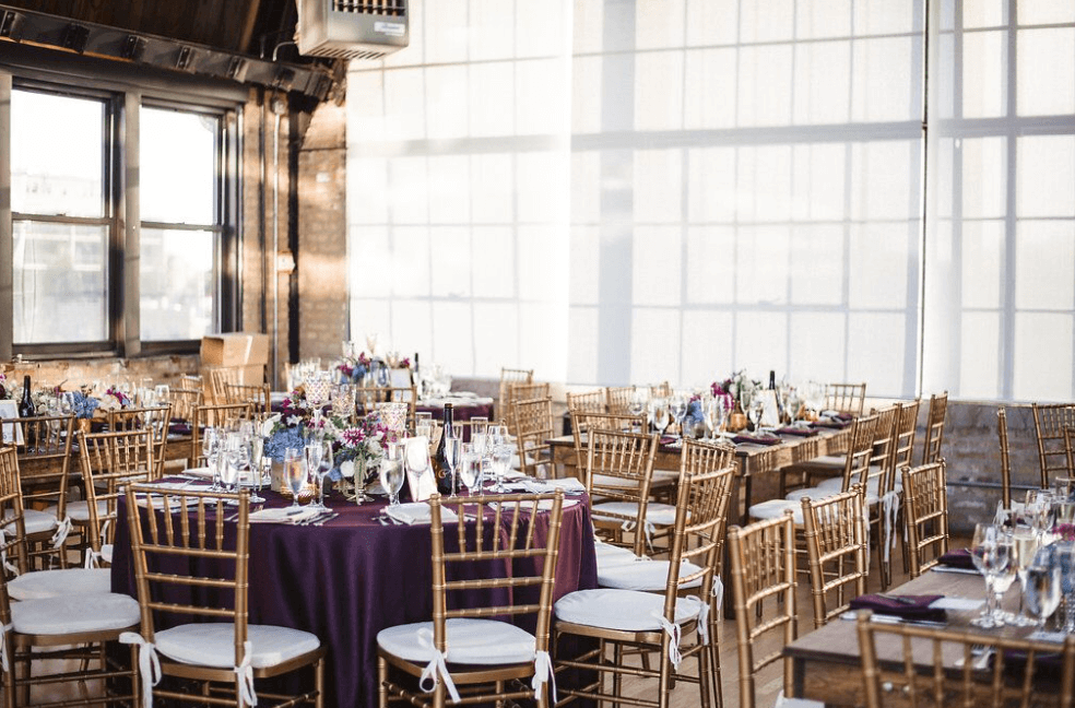 Ravenswood Event Center Atrium Wedding