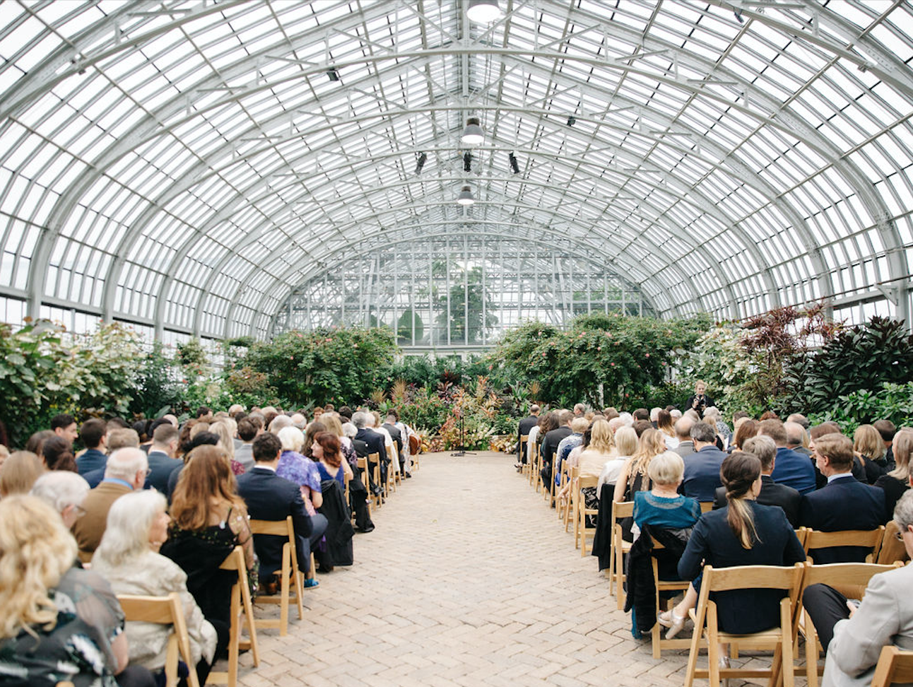 Garfield Park Conservatory Wedding.Indoor Garden Wedding At Garfield Park Conservatory Lola Event