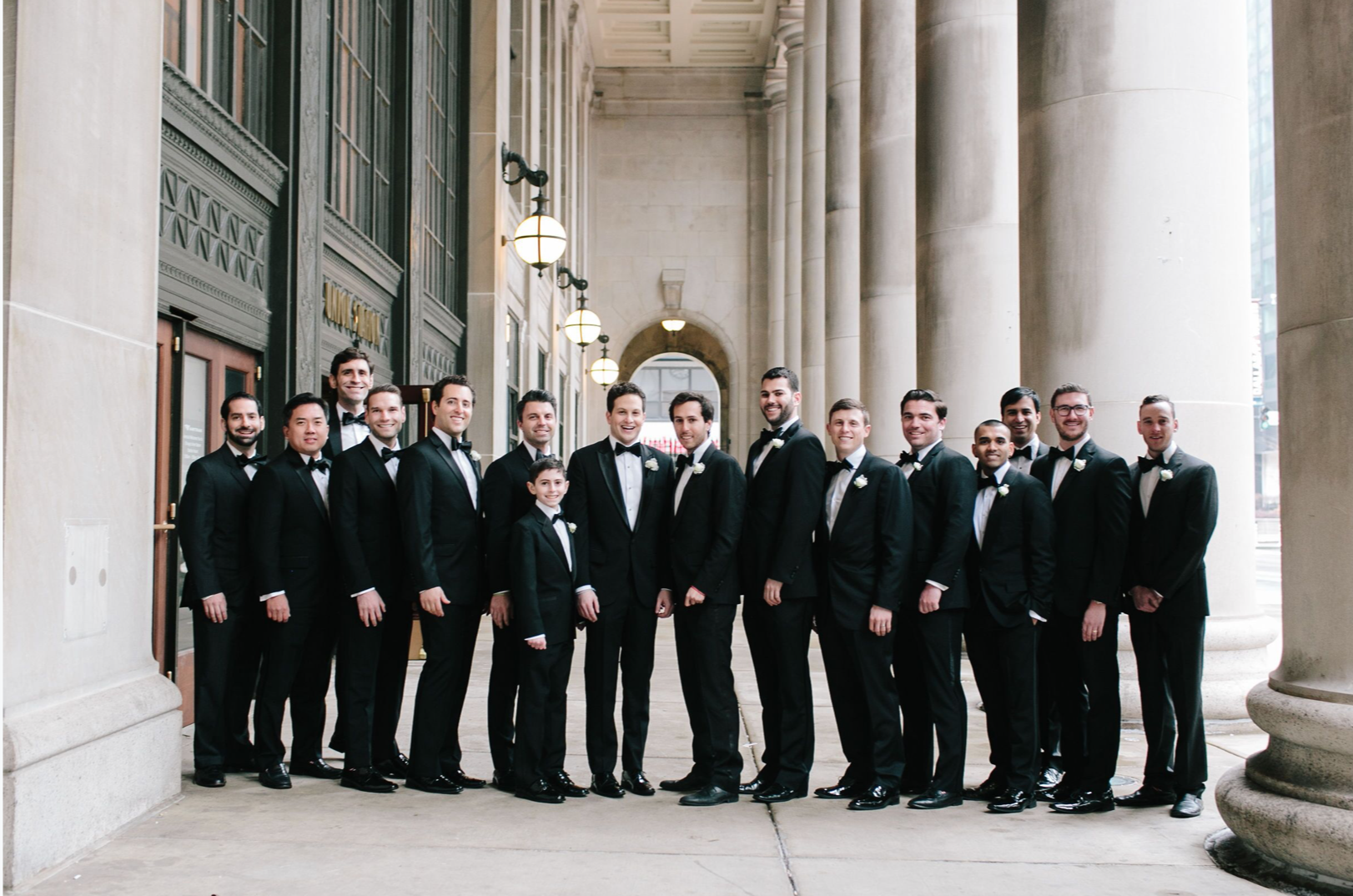 Classic Chicago Cultural Center Wedding