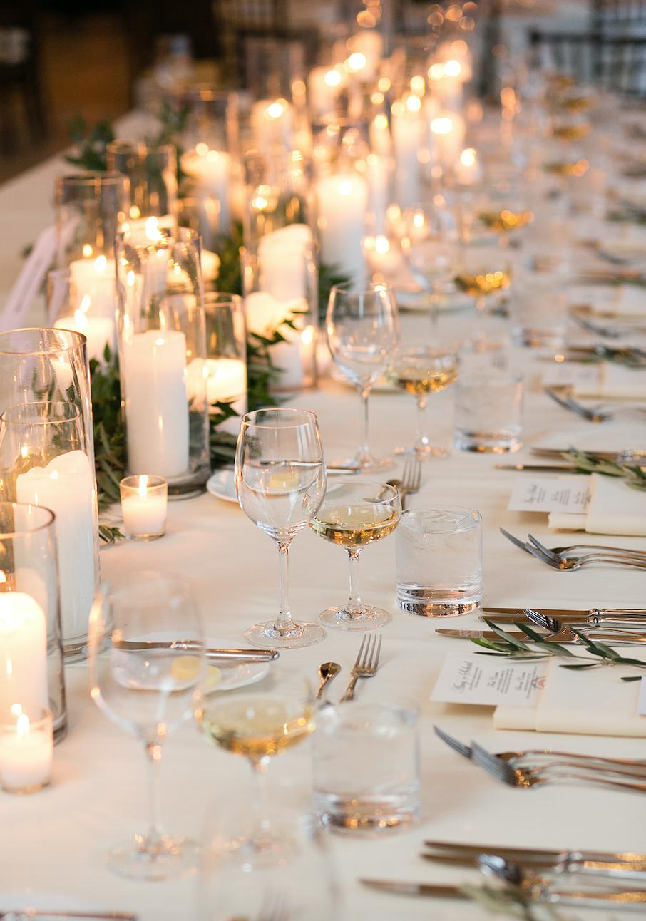 candles Fusion Wedding